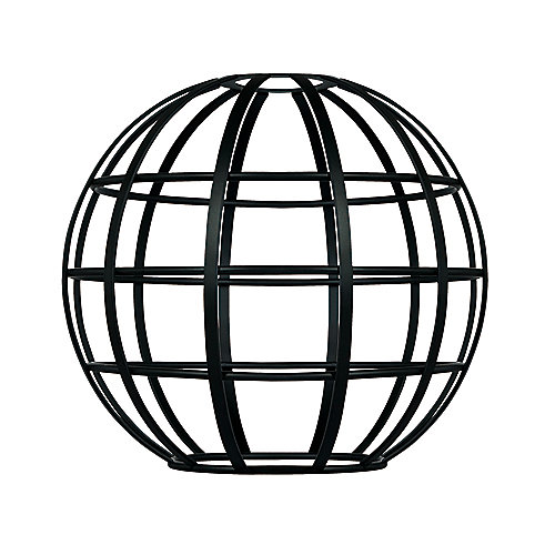 Matte Black Globe Cage