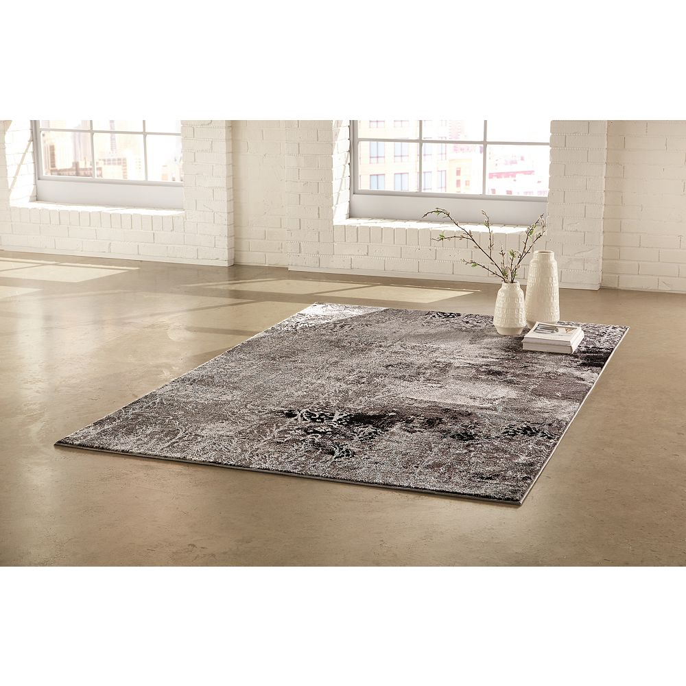 Home Decorators Collection Rideau Area Rug 5 Feet 1- Inch x 7 Feet  4-Inch