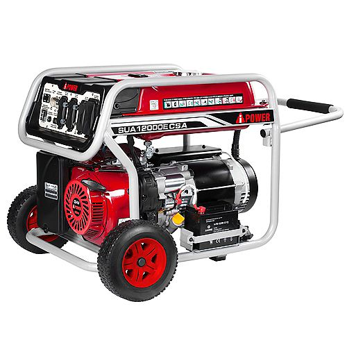 A-iPower 12,000W Peak Electric Start Generator