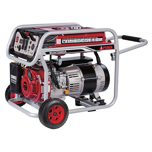 A-iPower 7,000W Gasoline Powered Manual Start Generator