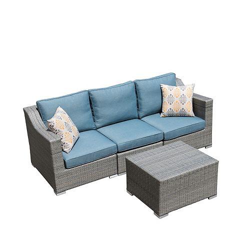 Sirio Kavala 4-Piece Patio Sofa Set