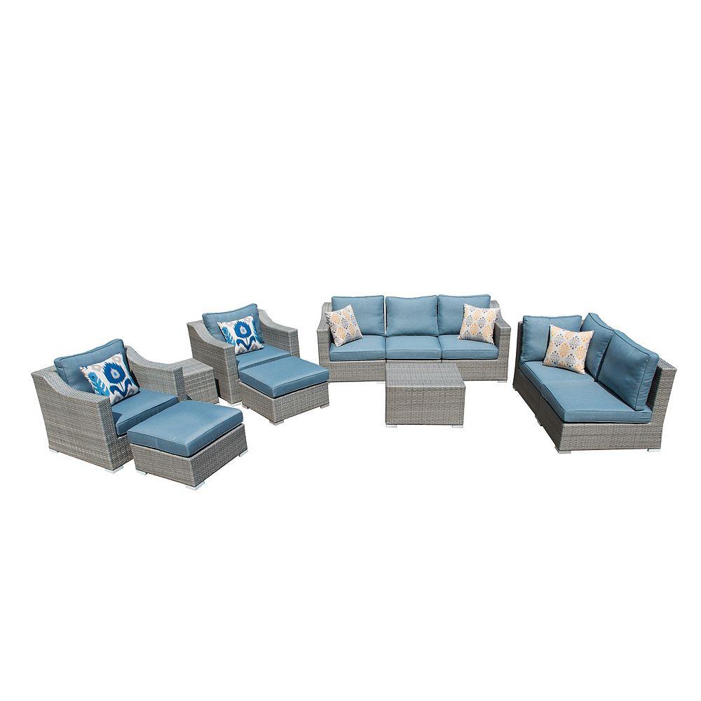 Sirio Kavala 11-Piece Patio Seating Set