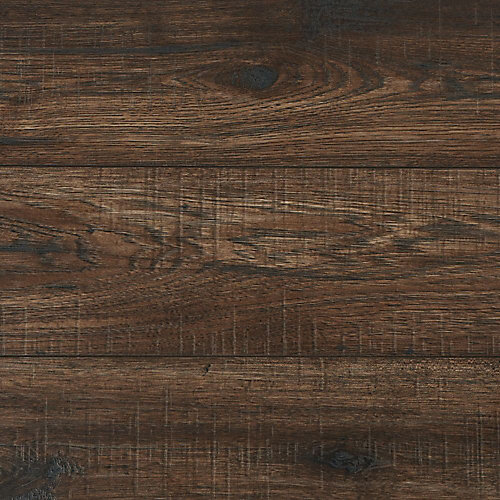 12mm Thick Bisonridge Hickory Laminate Flooring (Sample)