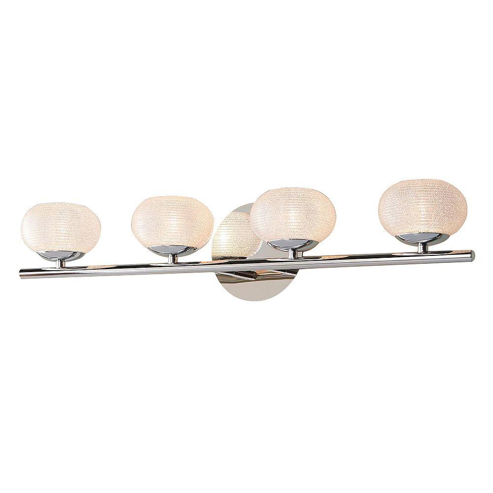 4 Light Bathroom Vanity Fixture, Vanity Bathroom Lights Fixtures
