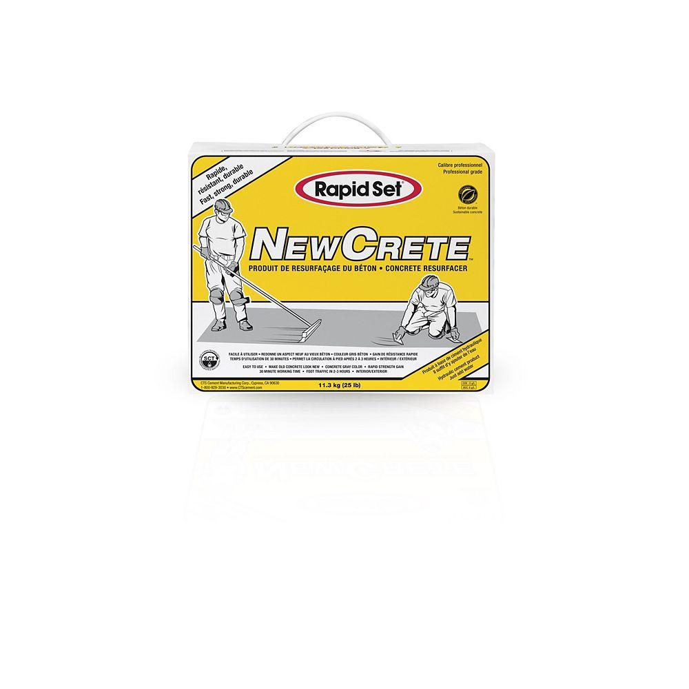 Rapid Set 25 lb. NewCrete Concrete Resurfacer