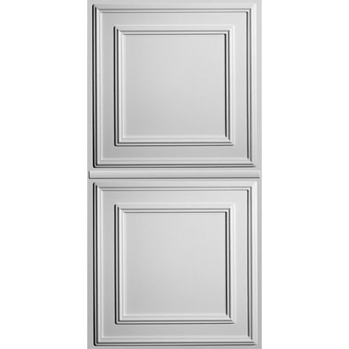 Ceilume Cambridge White 2 Feet x 4 Feet Lay- Inch Ceiling Panel