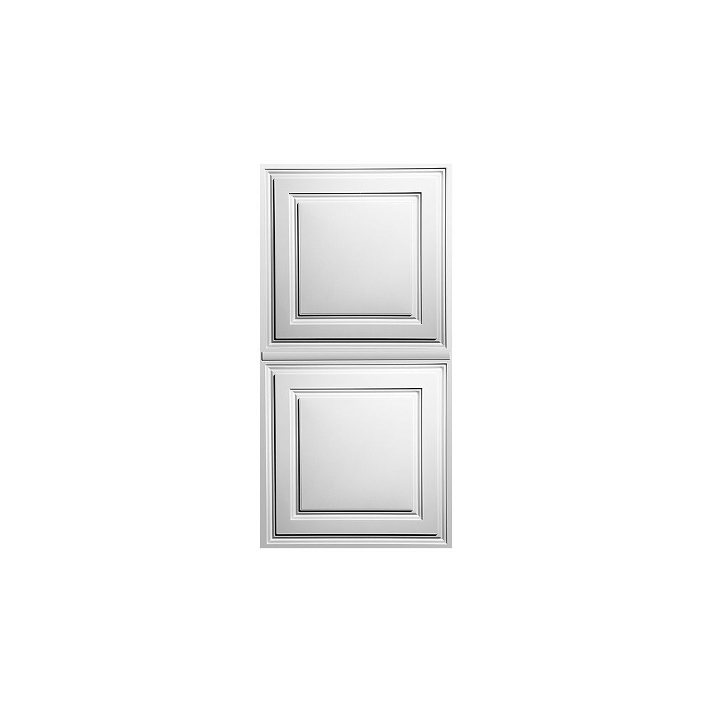 Ceilume Oxford White 2 Feet x 4 Feet Lay- Inch Ceiling Panel