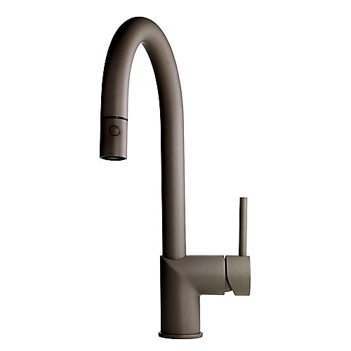 Gooseneck Pull Down Faucet SM