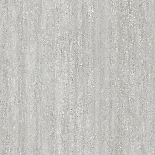 Carreau de revêtement au sol, vinyle de luxe, 16 po x 32 po, Capitola argenté, 24,89 pi2/boîte