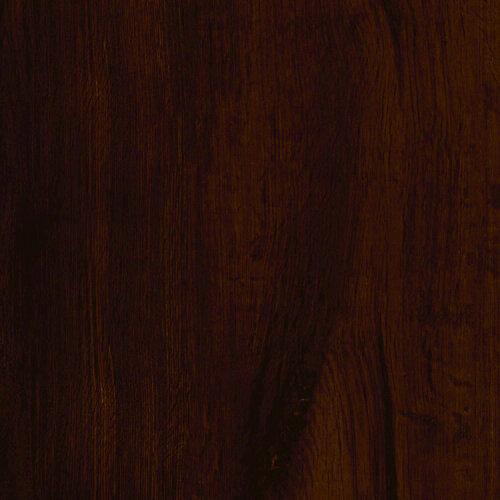Plancher de vinyle de luxe en planches de 7,5 po x 47,6 po en chêne espresso verrouillable (19,8 pi2 / caisse)