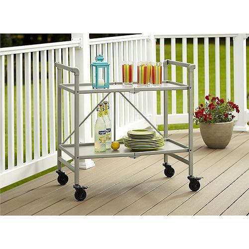 Indoor / Outdoor Folding Serving Cart