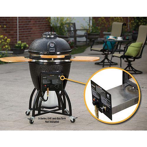 Raccord pour gaz à changement rapide pour barbecue Kamado de série S