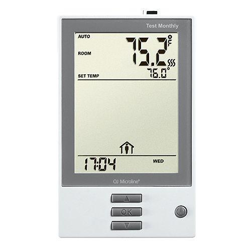 NHance: Thermostat programmable, classe A GFCI, avec senseur