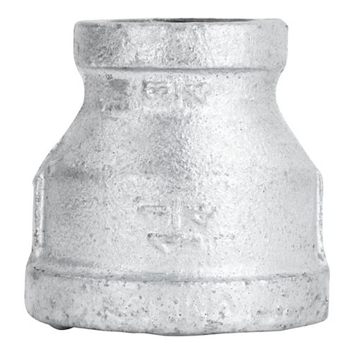 Fitting Galvanized Iron Reducer Coupling 1 1/4 inch x 3/4 inch