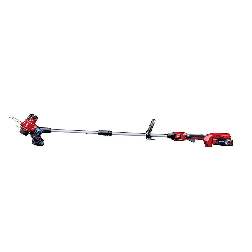 Toro PowerPlex 13-inch 40-Volt Cordless Max String Trimmer/Edger