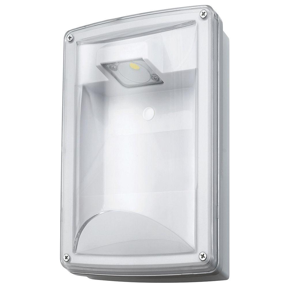 Globe Electric Lampe À Usage Intérieur/Extérieur De 12W Led Avec Photocellule, Résistante Aux Intempéries