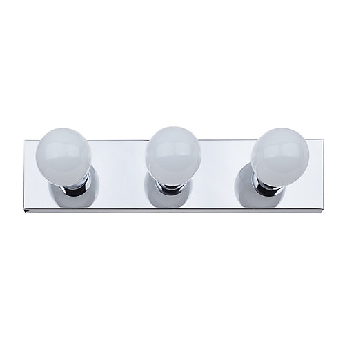 Cameron 3-Light Vanity Light Fixture in Chrome