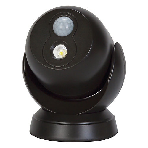 LED for Life 180-Degree Motion Activated Battery Operated In/Outdoor Integrated LED Security Light