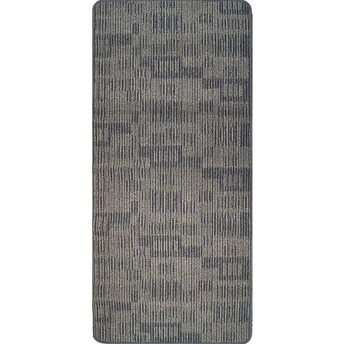 Carpette utilitaire d'intérieur, 2 pi x 5 pi, rectangulaire, gris Metropolitan