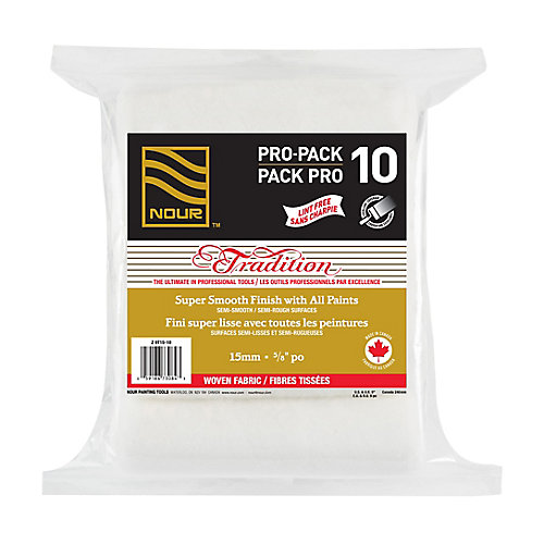 Tradition 15mm Woven Lint Free Roller Refill (10-Pack)