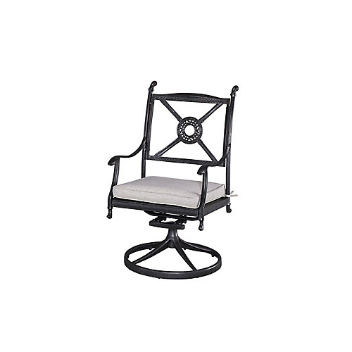 Athens Patio Swivel Chair with Cushion