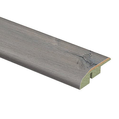 Silver Oak 1/2-inch Thick x 1 3/4-inch Wide x 72-inch Length Laminate Reducer Molding