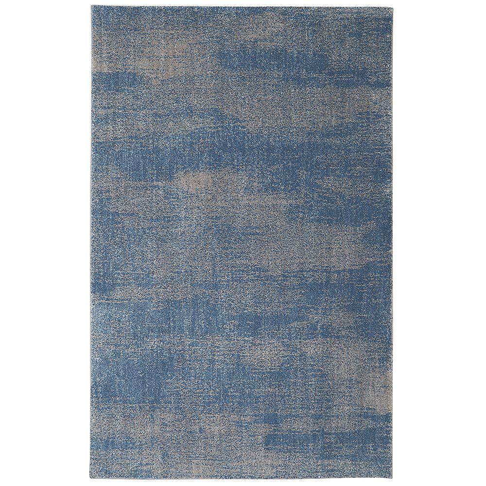 Home Decorators Collection Chilmark Blue 96x120 Area Rug