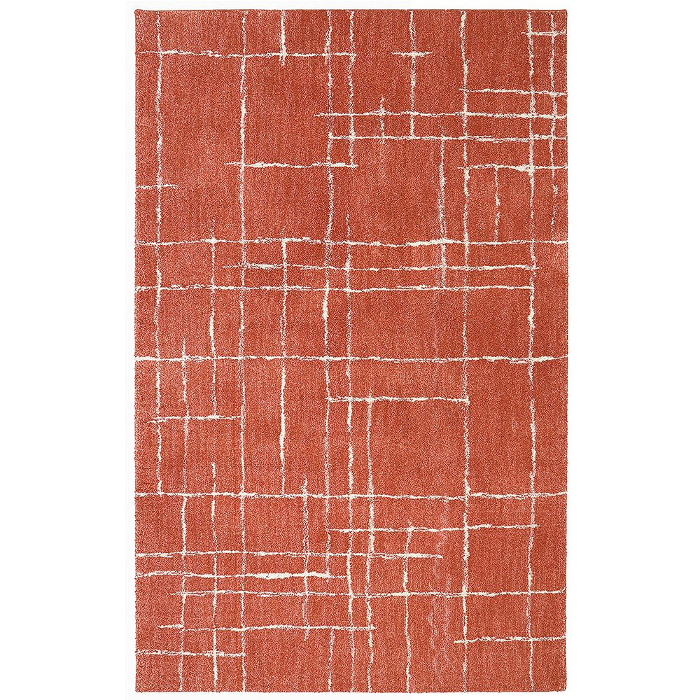 Home Decorators Collection Chatham Coral 96x120 Area Rug