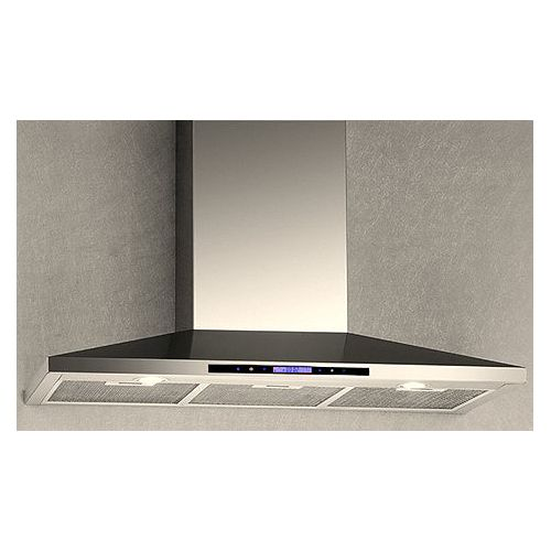 36-inch 600 CFM Wall Mounted Range Hood with Sensor Touch Control in Stainless Steel