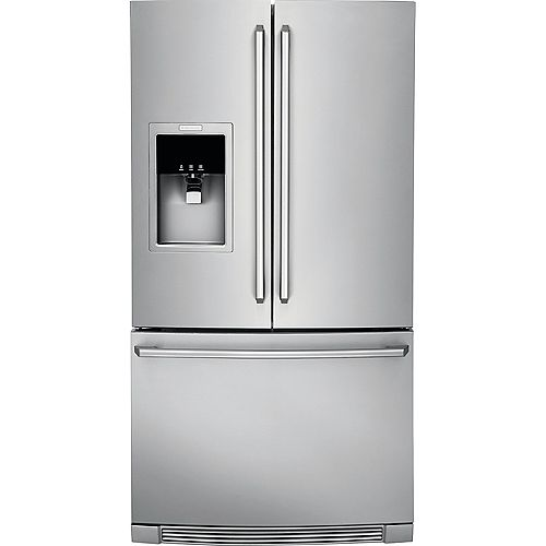 Réfrigérateur de 36 po W 21,5 pi. cu. en acier inoxydable à montage inférieur - ENERGY STAR®