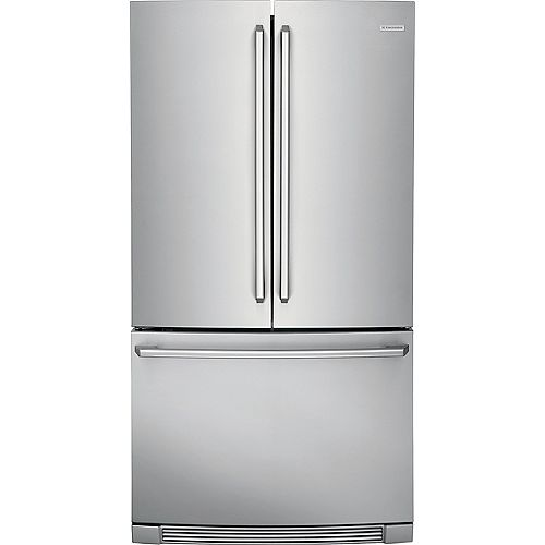 Electrolux 36-inch W 22.2 cu. ft. Bottom Mount Refrigerator with IQ-Touch Controls in Stainless Steel - ENERGY STAR®
