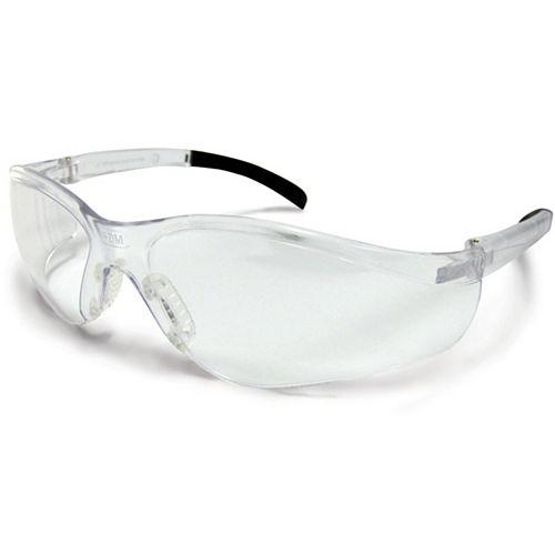 Lunettes de sécurité avec lentilles transparentes anti-égratignures et abrasions