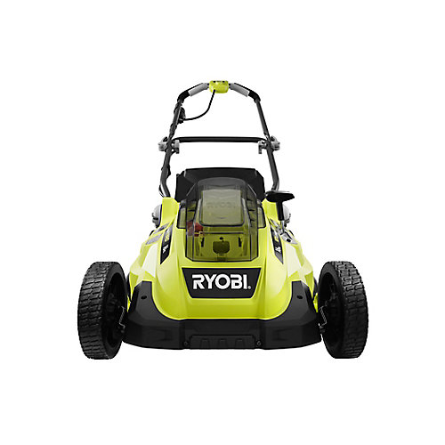 ONE+ 18V Lithium-Ion Hybrid 16-inch Push Lawn Mower w/ 4.0 Ah Battery and Charger
