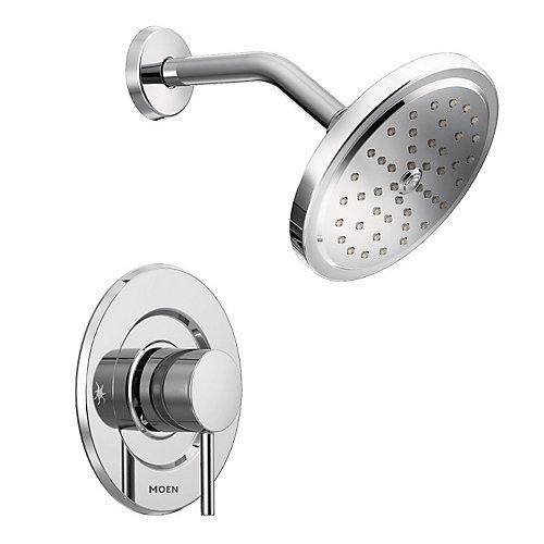 Align 1-Handle Shower Moentrol Faucet Trim Kit in Chrome (Valve Sold Separately)