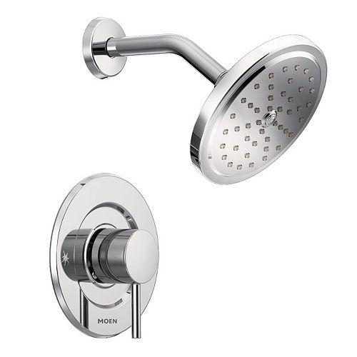 MOEN Align 1-Handle Moentrol Shower Faucet Trim Kit in Chrome (Valve Not Included)