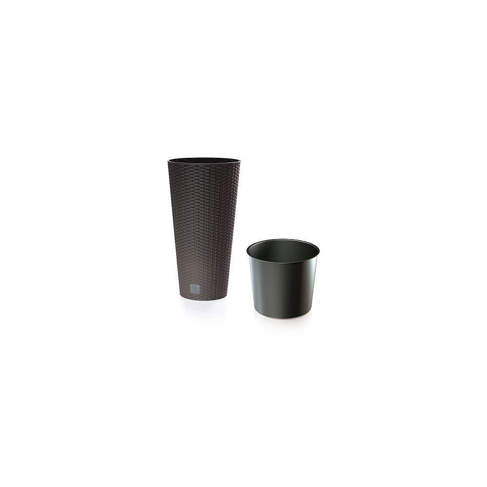 Rato Prosperplast 11.8 Inch Round Planter & Insert - Umbra