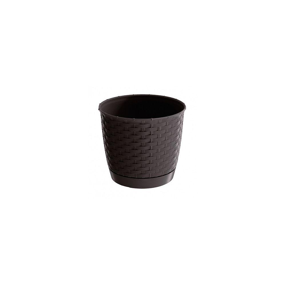 Ratolla Prosperplast ROUND 9.8 Inch Round Planter - Umbra