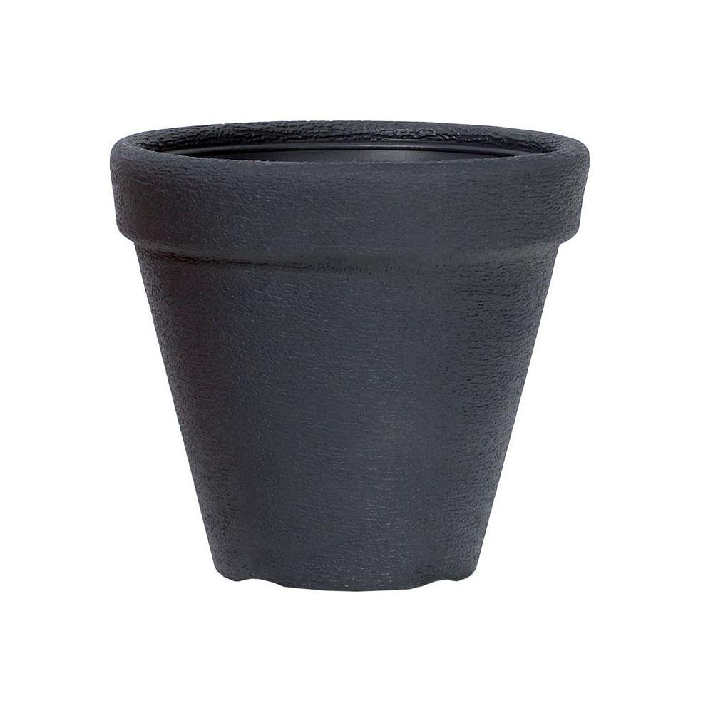 Classic Prosperplast CLASSIC  Planteur rond de 11,8 po - Noir