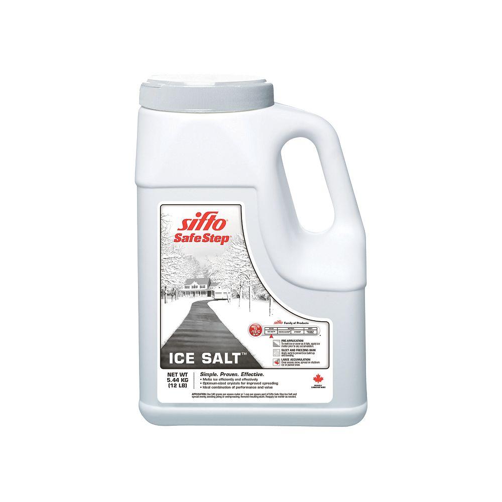 Sifto 4 x 5.44kg Safe Step Ice Salt Jug