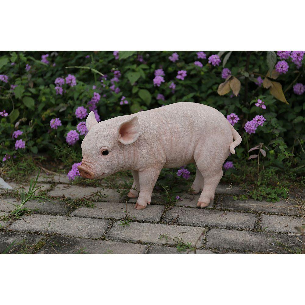 Hi-Line Gift Statue cochon debout.