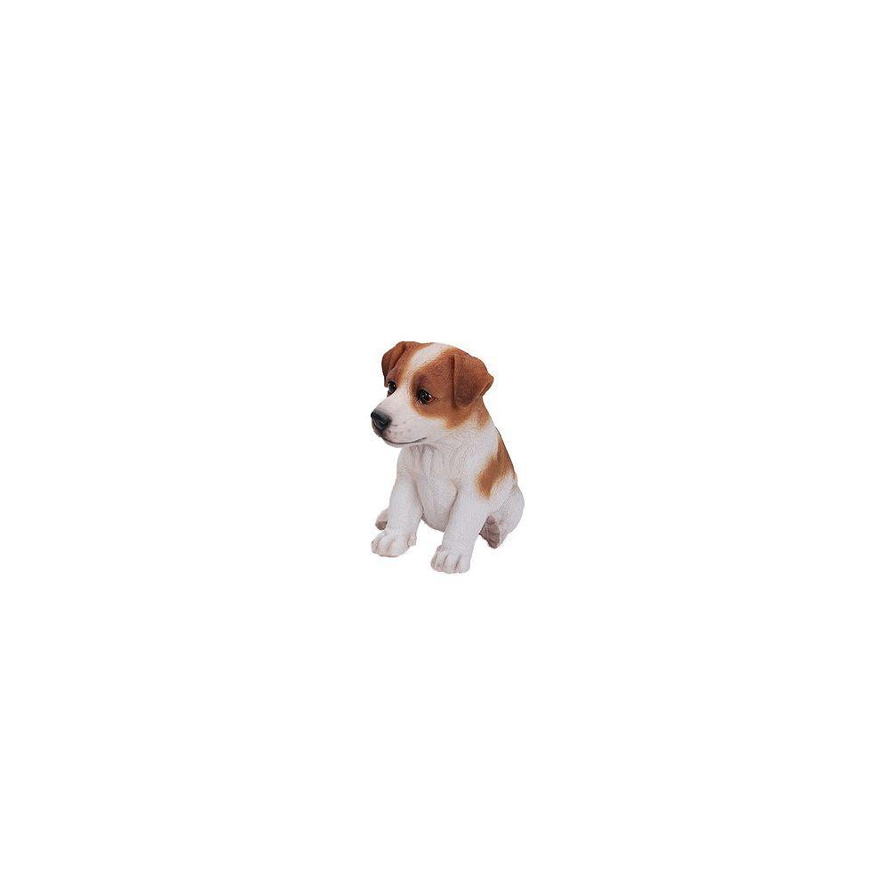 Hi-Line Gift Sitting Jack Russel Terrier Puppy Statue