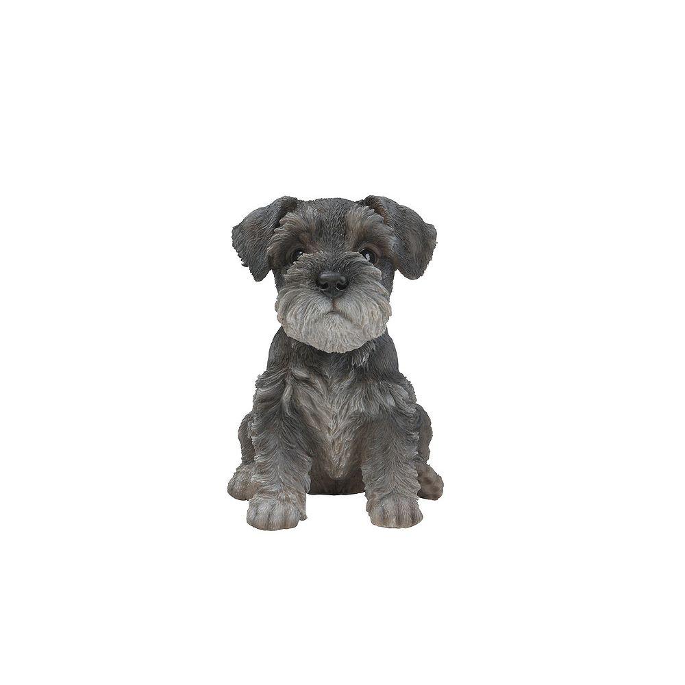Hi-Line Gift Sitting Schnauzer Puppy