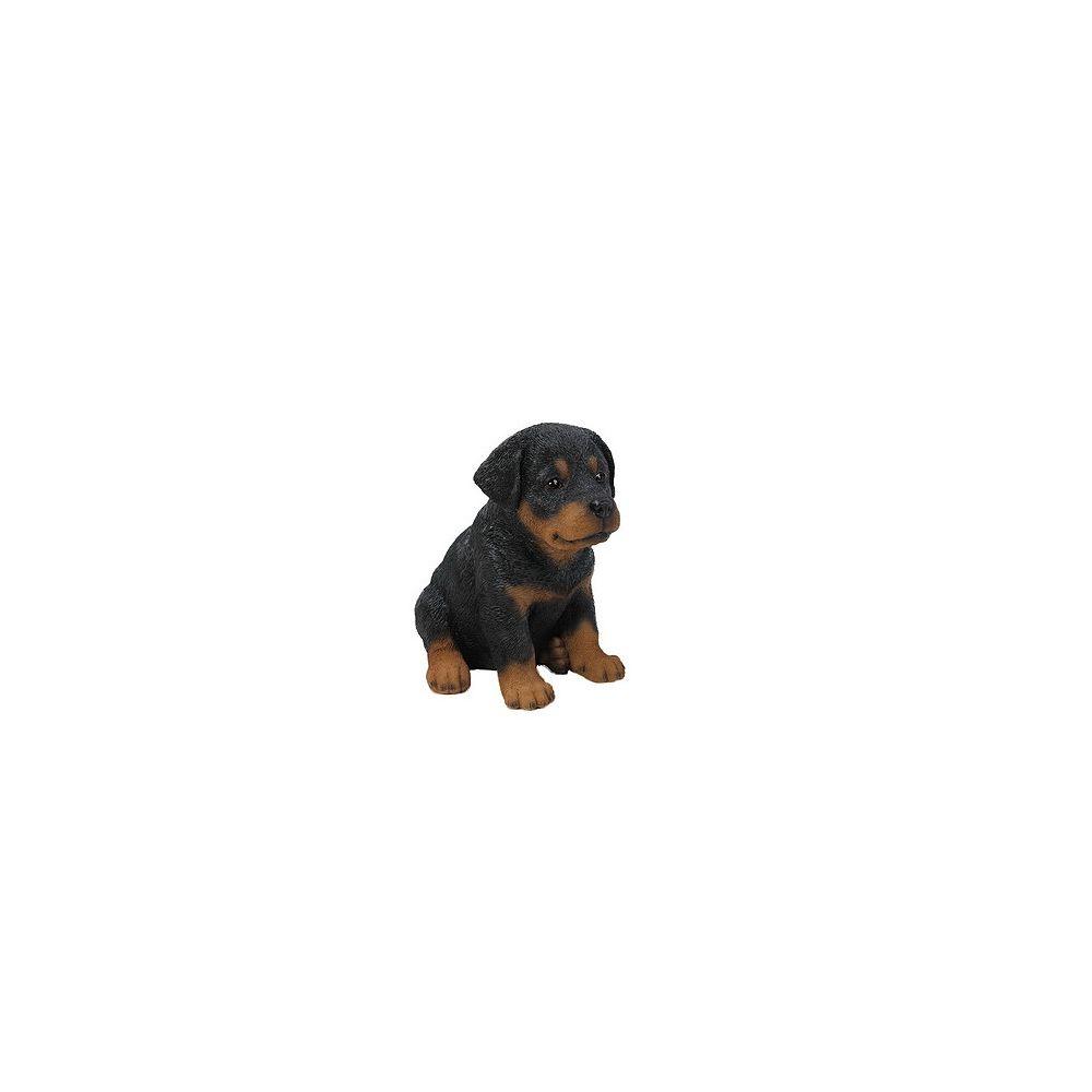 Hi-Line Gift Sitting Rottweiler Puppy Statue