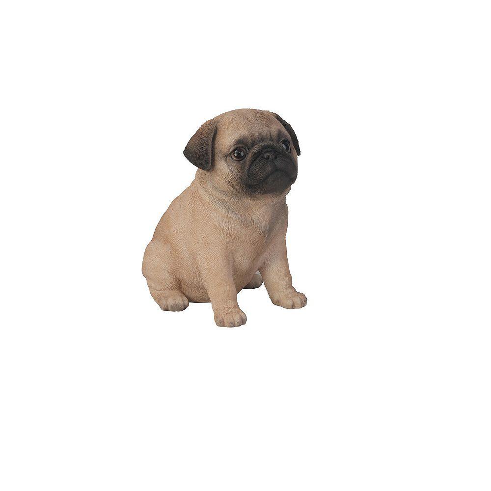 Hi-Line Gift Sitting Pug Puppy Statue