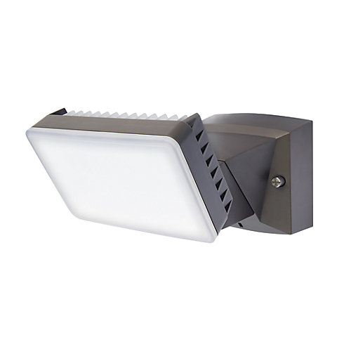 Single LED Dusk-to-Dawn Security Light with Timer