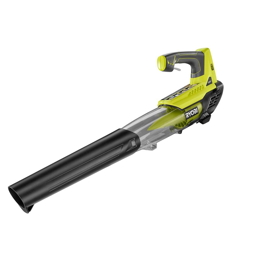 RYOBI 18V ONE+ 100 MPH 280 CFM Lithium-Ion Cordless Jet Fan Leaf Blower (Tool Only)
