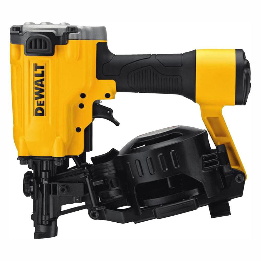 DEWALT Pneumatic 15-Degree Coil Roofing Nailer
