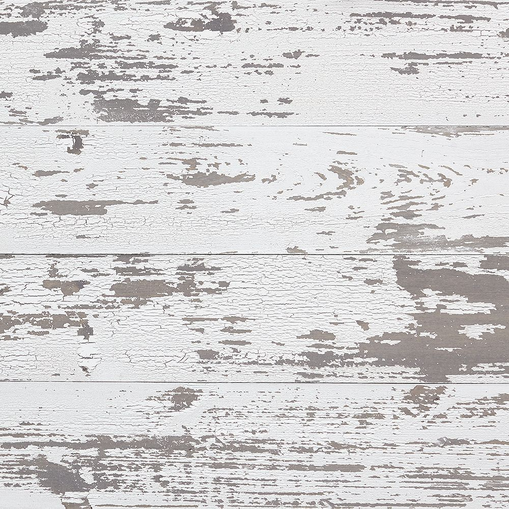 Timeline Skinnies Dry Brushed White Distressed  Wall Boards