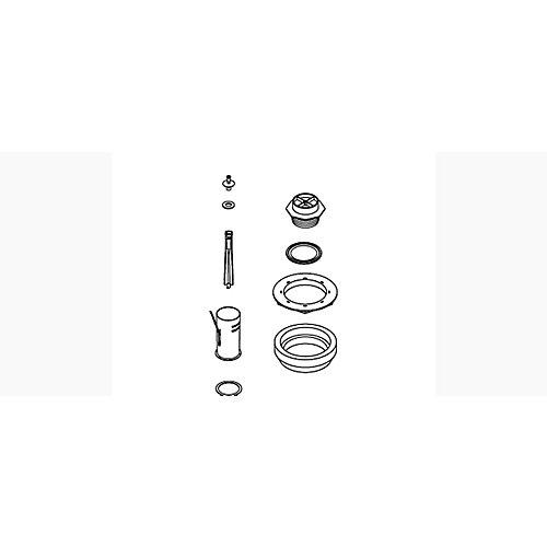 Toilet Canister Valve Assembly Service Kit