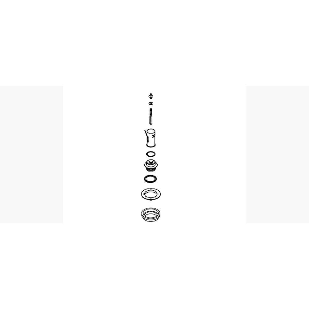KOHLER Kit d'assemblage de valve de bidon